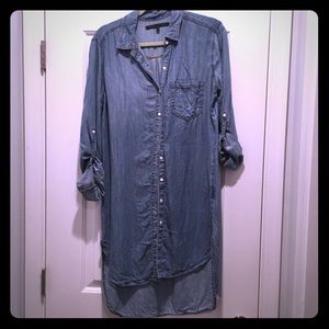 Dresses & Skirts - Denim shirt dress